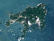 小豆島が牛に見えて困る。