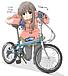 オタクで自転車(チャリ)が好き