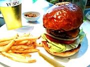何食べる?ハンバーガー!!