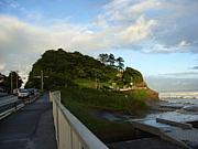 稲村ケ崎のビーチから