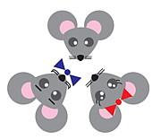 Three Little Mice @世田谷