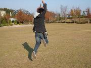飛んで〜!はい、撮るよ〜!