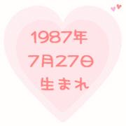 1987年7月27日生まれっ子♪