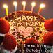 私は10月2日生まれです。