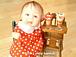 樹脂粘土の赤ちゃん happa baby