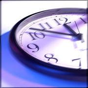 ふと時計を見ると秒針が止まる