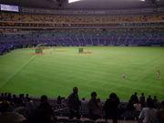 野球はやっぱり外野席♪