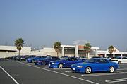 青色のR32スカイライン