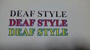DEAF STYLE VOL,3