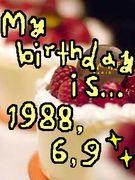1988.6.9生まれ