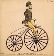 自転車のブレーキがキーキー鳴る