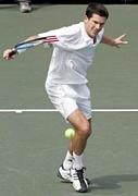 大阪でテニス ハーフボレー