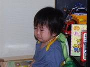 子供が泣いてる