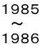1985年or1986年生まれのママ