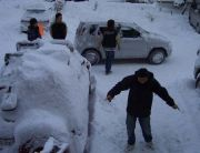 石川の雪山でスノーボード@ON!
