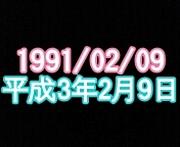 1991年2月9日生まれ