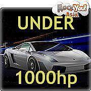SPEED RACING@UNDER 1000hp