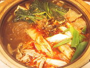 キムチ鍋を大いに囲む会