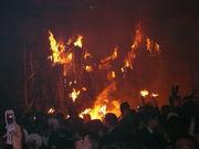 鞍馬の火祭り!
