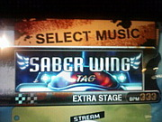 DDR「SABER WING」&(Headshot)