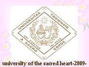 *聖心女子大学2009年度生*