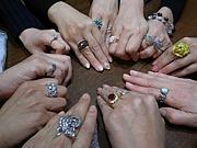 指輪女子会