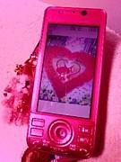 ピンクの携帯★携帯はピンク!