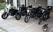 バイクと共に