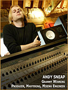 "ENGINEER""Andy Sneap"""