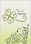 Bar Four Leaf Clover