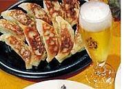 ビールと餃子は飲み物です