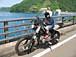 子供と仲良くバイク