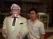 KFC 熱帯低気圧店