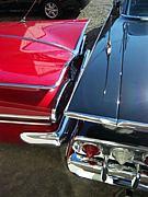 鏡に映った愛車を見てしまう。