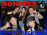 毎週木曜Club Jaws『MONSTAR』