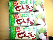 丸永製菓の抹茶ぜんざいが好き。