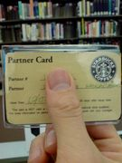 Starbucks partner's world