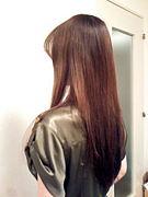 ヘッドマッサージ&後ろ髪美人