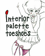 interior palette toeshoes