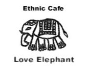 ETHNIC CAFE LOVE ELEPHANT