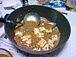 麻婆豆腐にスプーン混入