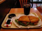 ひとりで昼ご飯を食べる