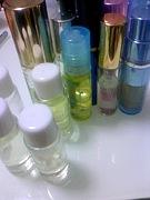 アロマで香水作り