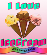 I♡ アイスクリーム♡