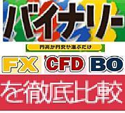 バイナリー比較なり(fx・cfd)