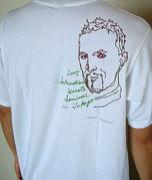 変な顔のTシャツ