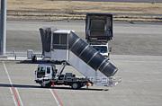 空港で見かける作業車