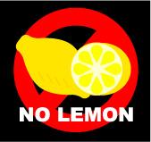 料理にレモンをかけない