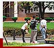 関東学院大学の憩いの場