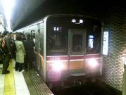 地下鉄のホコリっぽい臭いが好き